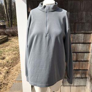 Tops - Quarter zip (s/m) shirt